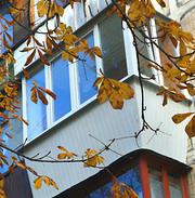 Расширение,  утепление балконов.