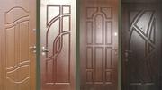 Двери бронированные и межкомнатные.