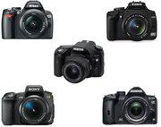 Продам  зеркальные фотоаппараты .Широкий выбор .Низкие цены