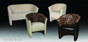 мягкий диван и кресло Лотос клуб,  диван для дома,  баров,  кафе,  ресторанов,  для офисов