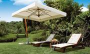 Деревянный консольный зонт