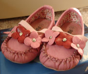 Детские туфли для девочки.