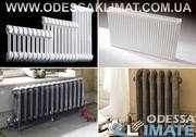 Купить радиаторы в Одессе стальные - биметаллические – алюминиевые
