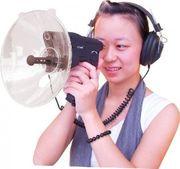 Супер Ухо 100 направленный параболический микрофон