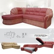 Мягкий раскладной Угловой диван Посейдон вика