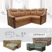 Мягкий раскладной Угловой диван Султан 2 1 вика