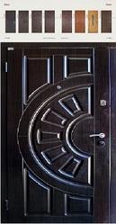 Двери входные металлические тм Zimen