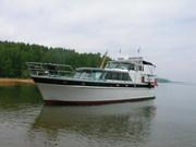 Продается стальная моторная яхта