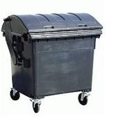 Контейнер для бытовых отходов 1100л,  б/у