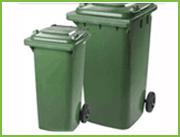 Контейнер для бытовых отходов 80л-340л,  б/у