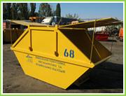 Бункер с крышкой,  8м3. Контейнер для строительных отходов
