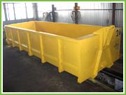 Роликовый контейнер,  15м3. Бункер для строительных отходов