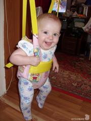 """""""Прыгунки 3 в 1  +  вожжи """"   Подарочный набор для новорожденных  295г"""