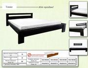 Кровать деревянная Токио