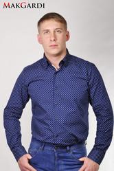 Мужские рубашки с коротким и длинным рукавом MakGardi