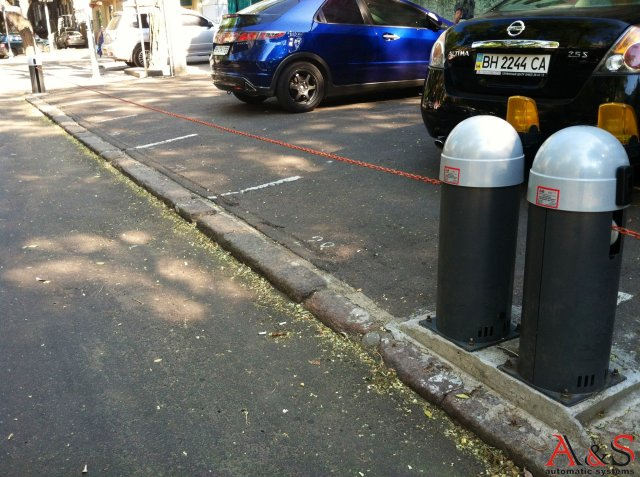 Кто-нибудь может поделиться схемами установки цепных барьеров?