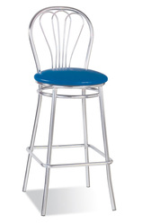 Стул высокий VENUS hoker chrome,  стулья для барных стоек,  стулья для к
