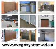 Автоматические ворота в Одессе купить,  ворота гаражные,  откатные