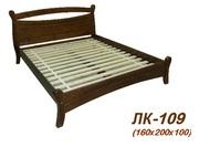Кровать,  деревянная,  Лк- 109,  Скиф,  из массива хвойных пород деревьев.