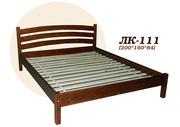 Кровать,  деревянная,  Лк- 111,  Скиф,  из массива хвойных пород деревьев.