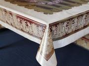 Скатерть силиконовая на кухонный стол,  размером 120х150см