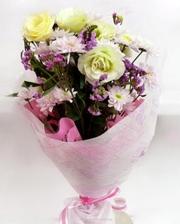 Цветы на свадебной церемонии по доступным ценам!