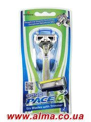 Бритвенная система Dorco Pace6 Plus