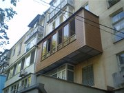 Расширение балконов и лоджий,  ремонт балконов