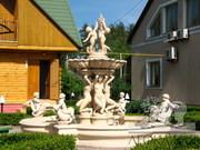 Скульптуры,  балюстрады,  балясины и фонтаны для Вашего сада