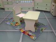 детский стол и стул под заказ
