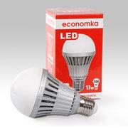 Светлое будущее вместе со светодиодной лампой 13w,  Economka,  LED