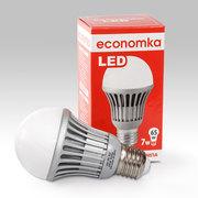 Led лампа 7w,  Economka