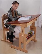 Стол-парта Умничка и стул  растущие