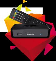 IPTV/OTT- Приставка MAG254/255-новая