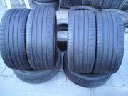 Продам комплект шин б/у лето ZR18 245/45  Michelin
