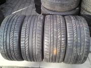 Продам комплект шин б/у лето R17 255/45  Continental