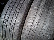 Продам пару шин б/у лето R17 255/60  Michelin