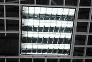 Светильник растровый люминесцентный встроенныйй FLOW-418 б/y