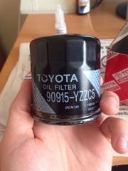 Масляный фильтр Toyota corolla (90915-yzzc5)