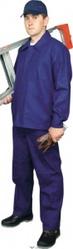 Костюм рабочий диагональ усил. 240 гр/кв.м,  (куртка+брюки),  т-синий
