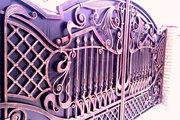 Изготовлвение ворот заборов навесов
