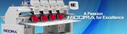 Многоголовая вышивальная машина Ricoma