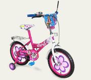 Велосипед 16 дюймов для девочки Новый