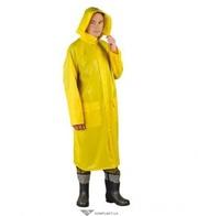 Плащ влагозащитный,  ПВХ+полиэстер,  PPNP,  цвет: желтый