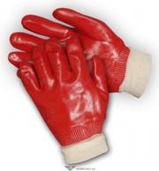 Перчатки маслостойкие РУБИН с ПВХ-покрытием