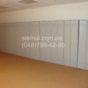 Шкафы для одежды металлические (локеры)