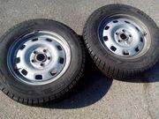 Продам шины зимние с дисками на Фольксваген Т-4 (205/65 х15С)