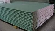 Влагостойкий гипсокартон применяют в строительстве легких ненесущих ст