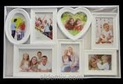 Фоторамка коллаж (FAMILY)на 2, 3, 4, 5, 6 фото.
