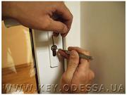 Услуга по установке замков на предприятиях Одесса